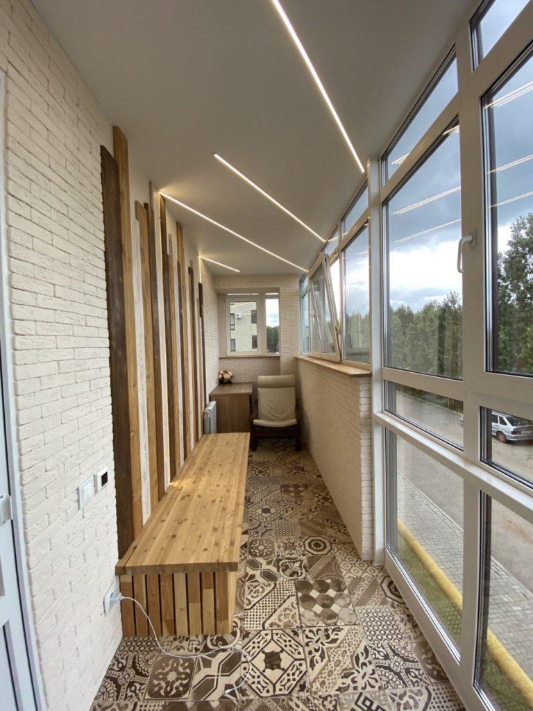Ремонт балкон