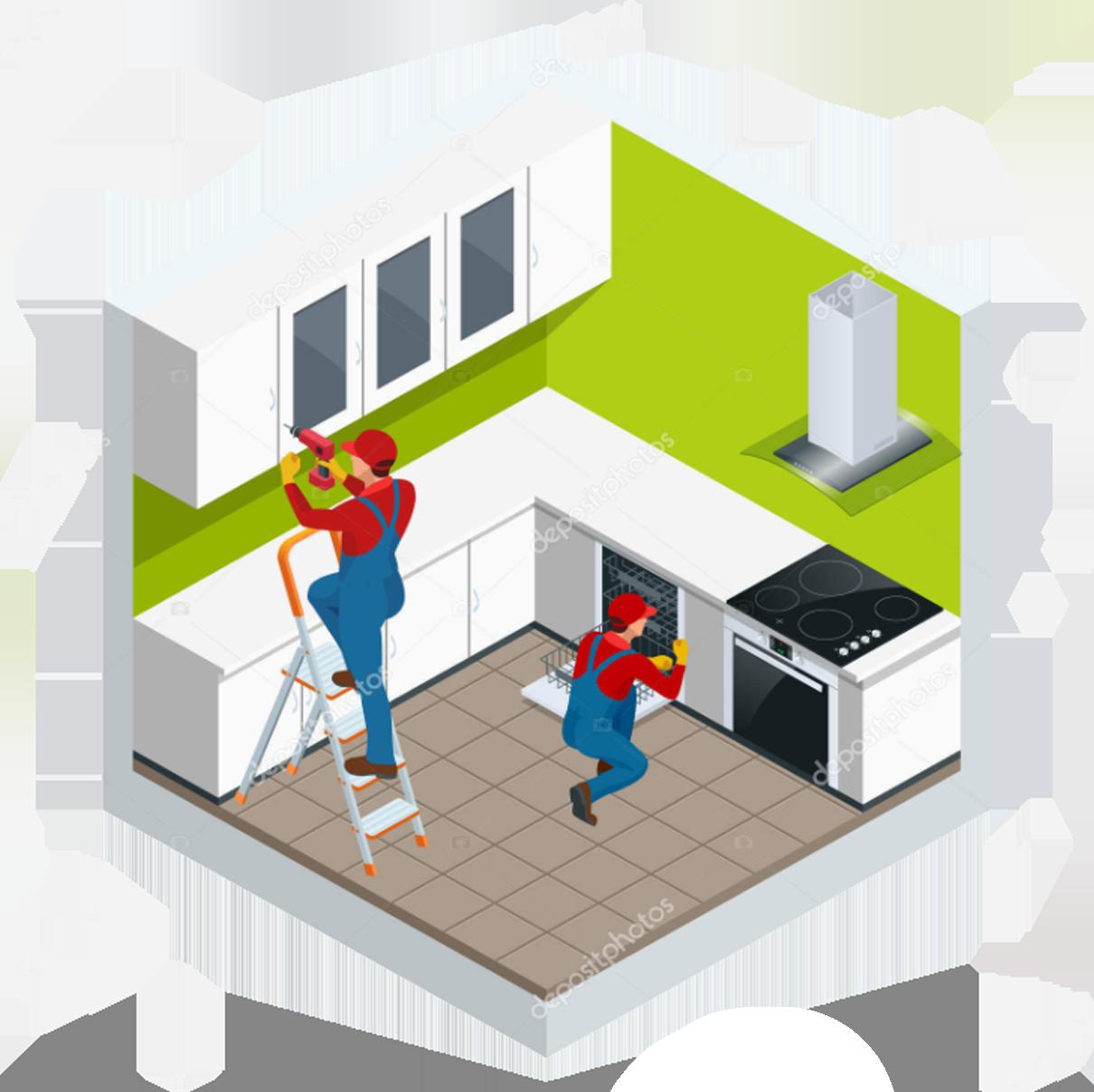 Мы комплектуем квартиру чистовыми материалами